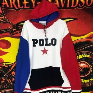 Polo Ralph Lauren Performance Spell Out Hoodie